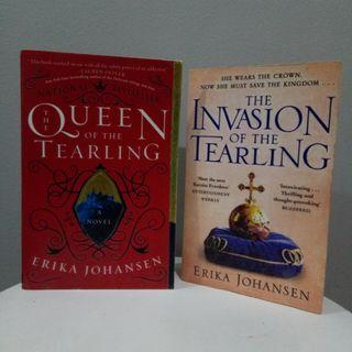 (Set) Queen of the Tearling & Invasion of the Tearling by Erika Johansen