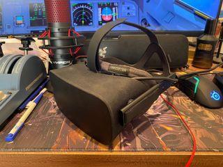 VR Oculus Rift 頭戴式虛擬實境 (used/二手)