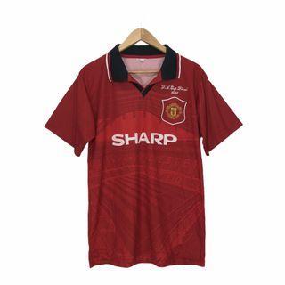 Vtg Manchester United F.A Cup Final 1996 Sharp Jersey