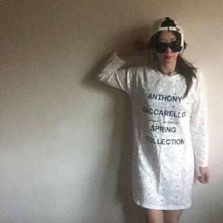 (三件$100元)全新韓版蕾絲長版長袖上衣 百搭上衣