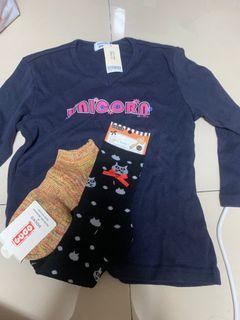 衣服+襪子一起賣