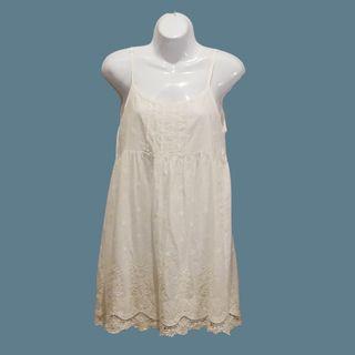 細肩帶洋裝#連衣裙#刺繡襯裙