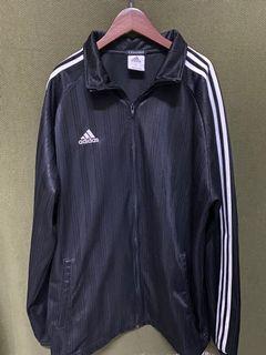 愛迪達 adidas 大件反光直條紋低調大件外套 #5 #集氣