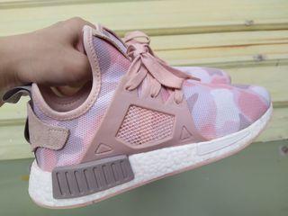 正品 Adidas ORIGINALS NMD XR1 DUCK CAMO BA7753 粉紅 迷彩 幾何 慢跑鞋 休閒鞋
