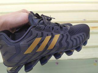 正品 Adidas Springblade Pro  黑 金 刀鋒戰士 運動鞋 慢跑鞋 休閒鞋 避震CQ0662