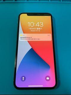 「私人好貨」🔥心機 iPhone X 64GB 功能正常 無盒/無配件 自售 二手手機 中古 空機 遊戲機 備用機