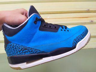 正品 全新NIKE AIR JORDAN 3 RETRO  AJ3 藍黑 籃球鞋 運動鞋 136064-406