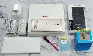 *典藏奇機*夏普 Sharp Z2 1600萬畫素 指紋辨識 Type-C 規格 4G雙卡雙待 / 10核心 5.5吋