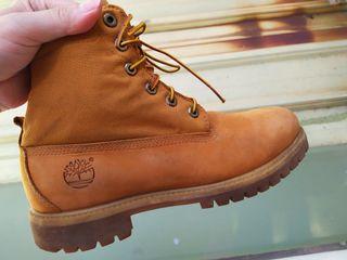 正品 Timberland 經典配色 反折靴 高筒 增高 防水 休閒鞋