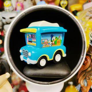 迪士尼 toontown tokyo disneyland 唐老鴨 高飛 絕版 限定 迴力車 車子 餐車 公仔 玩具