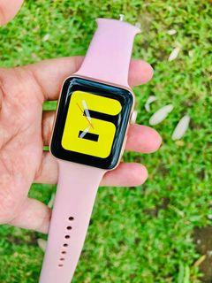 Mulus like new Apple Watch series 3 rose gold 38mm iwatch