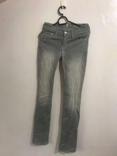Authentic 7 for All Mankind Straight Cut Gray washed Jeans