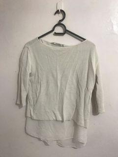 Authentic Zara Contrast Pullover/Sweater Top