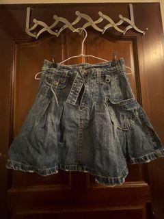 兒童牛仔裙(厚)B13