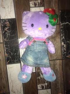 BAB Build a Bear Hello Kitty Purple