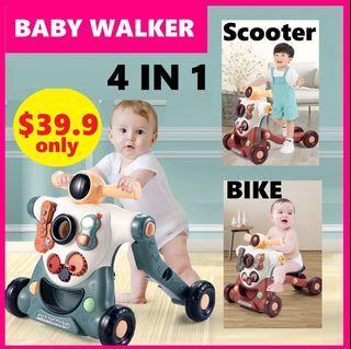 baby walker bike bicycle scooter