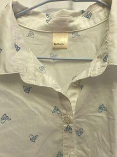 b.club長版襯衫