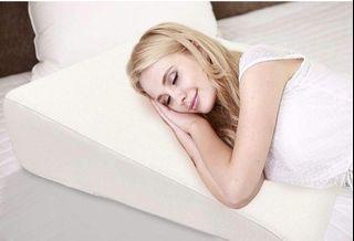 "Bed Wedge Pillow - 28"" x 28"" x 7"" - Acid Reflux Pillows - SmartSLANT Engineering - Heartburn Neck & Back Pain - Adjustable Zipper & Hypoallergenic Original Pillowcase"
