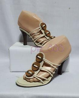 CHANEL Strappy Heels Size 36