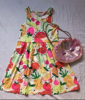 H&M fruits dress
