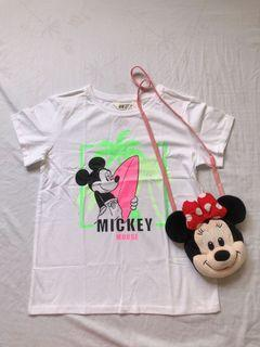 H&M mickey mouse shirt