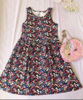 H&M mixed flowers dress