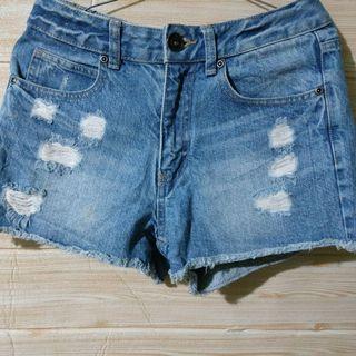 Hotpants ripped  jeans import dewasa
