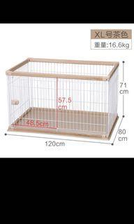 IRIS XL Dog Crate/playpen/cage