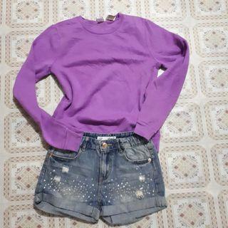 Jacket and shorts