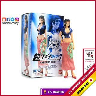 【JAPAN ORIGINAL  + 5% REBATE 额外回馈】Styling Nico Robin Ambitious Might Figure One Piece 正版 日版 海贼王 食玩 罗宾 现货 送礼 模型
