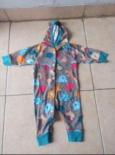 Jumper Baby Lucu Velvet Junior New Born-3 Months/Baju Bayi Murah