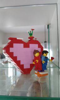 Lego 情人節心心玩具禮物