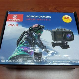 FB保留中MUSON action camera pro3 4k 手持防手震 運動相機【日式二手店 大和堂】