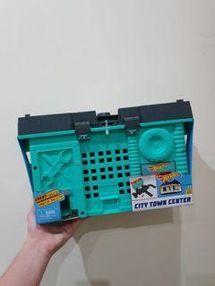 NEW! HOTWHEELS city town center mainan anak koleksi lego mobil cocok untuk hadiah