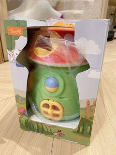 New Musical Mushroom with shape sorter and other activities