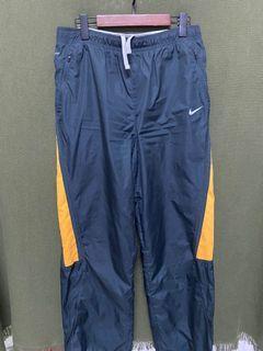 Nike 耐吉 黑黃機能寬版長褲 #5 #集氣