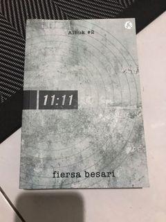 novel fiersa besari : 11:11