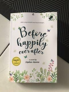 novel sophia hanna : before happily ever after