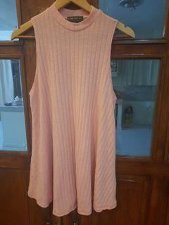 PLUS SIZE Forever 21 knitted pink long top or mini dress