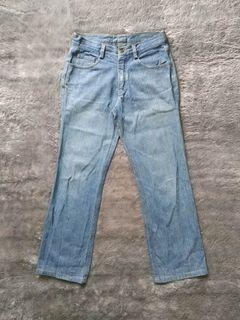 Preloved - Washed Blue Jeans For Womens
