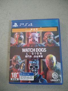 PS4 Watch dogs legion 黃金版 code 已用