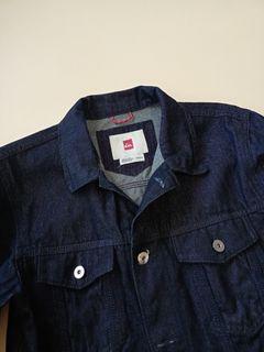 QUICKSILVER Denim Jacket in Dark Blue
