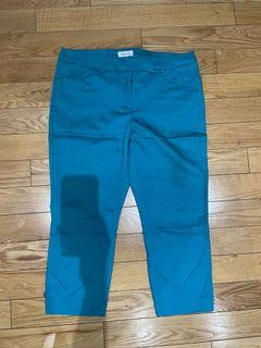 Reitmans Blue Cropped Pants Size 11