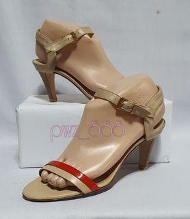 SALVATORE FERRAGAMO Strappy Ankle Strap Heels Size 7 C