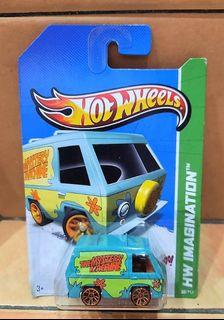 SCOOBY DOO THE MYSTERY MACHINE - Hot Wheels 2012 HW Imagination Series