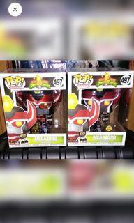 [SET OF 2] Mighty Morphin Power Rangers Metallic Megazord Funko Pop Bundle
