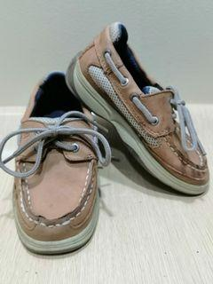 Sperry Size 10 Toddler Top-Sider Leather Deck Shoes