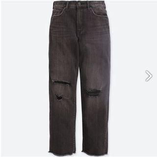 Uniqlo Distressed Boyfriend Jeans