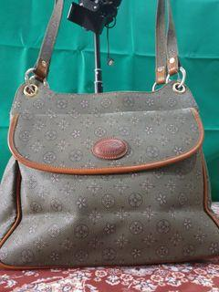 VINTAGE LEATHER HOBO/TOTE
