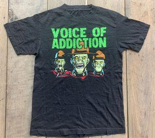 Voice of Addiction Band T-shirt